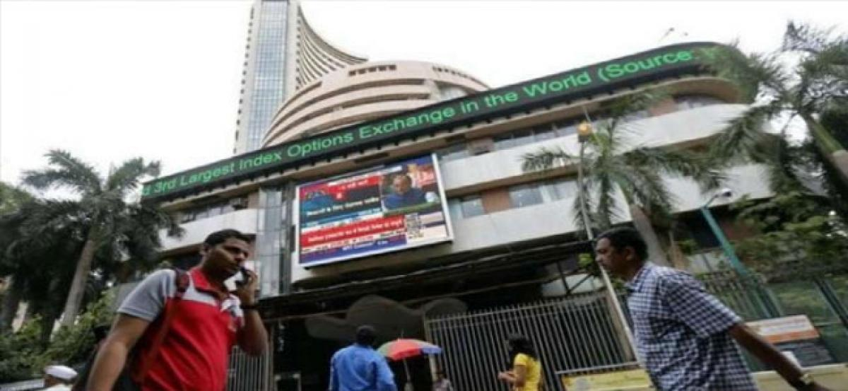 Sensex falls over 100 points to snap six-day record run