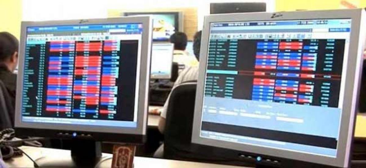 Sensex up 46 points in choppy trade on better macro-data