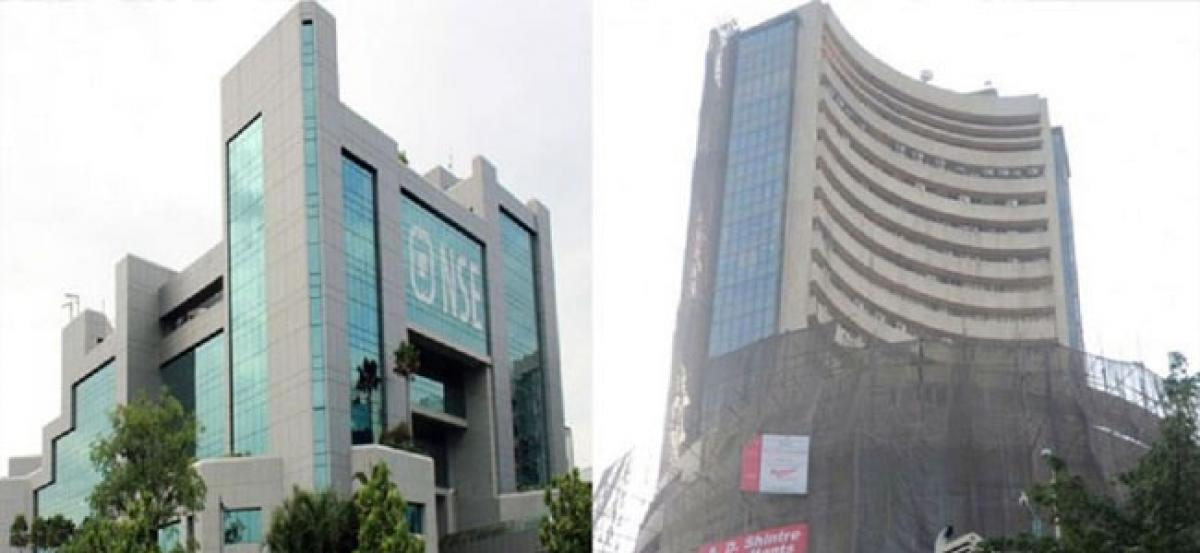Sensex rose to a high record on firm global cues