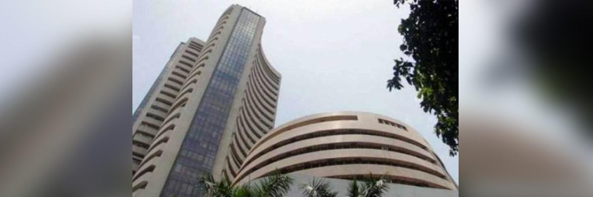 Equity indices open in red; Sensex down 150 points