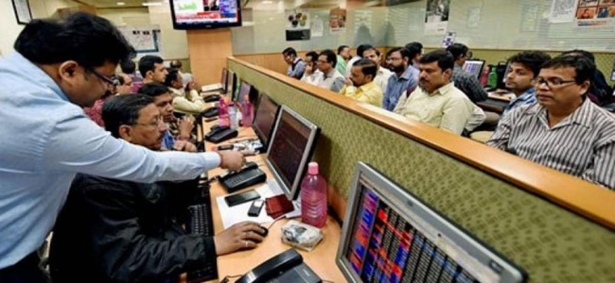 Sensex recovers 116 points on mixed global cues