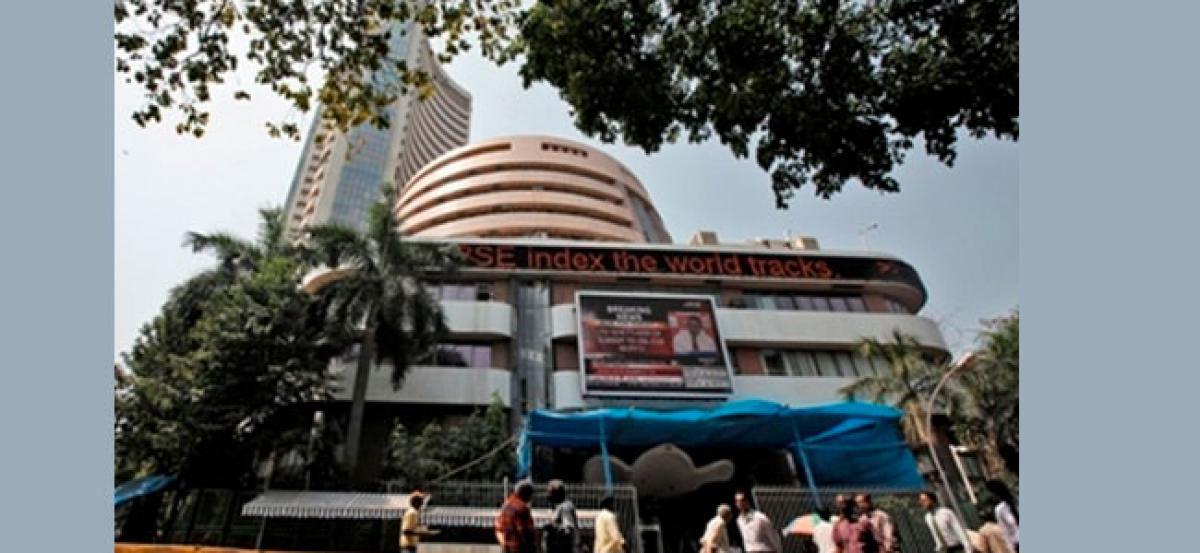 Sensex, Nifty dip post TDPs withdrawal from NDA