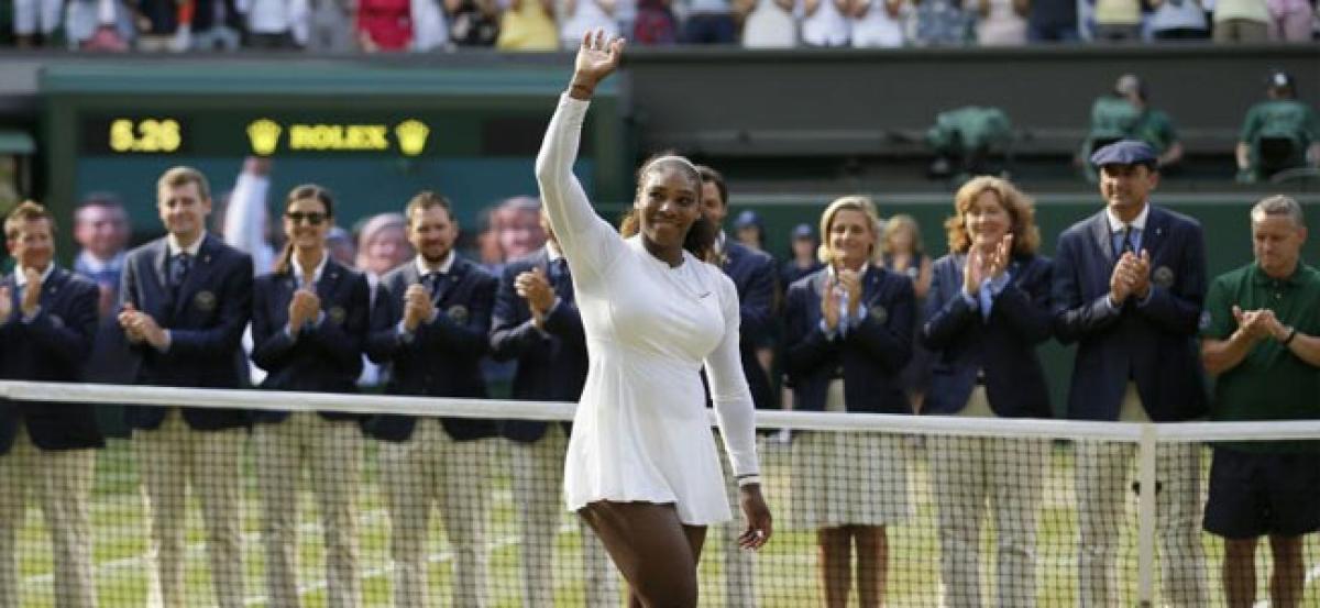 Serena climbs 153 places to return to top 30 following run to Wimbledon final