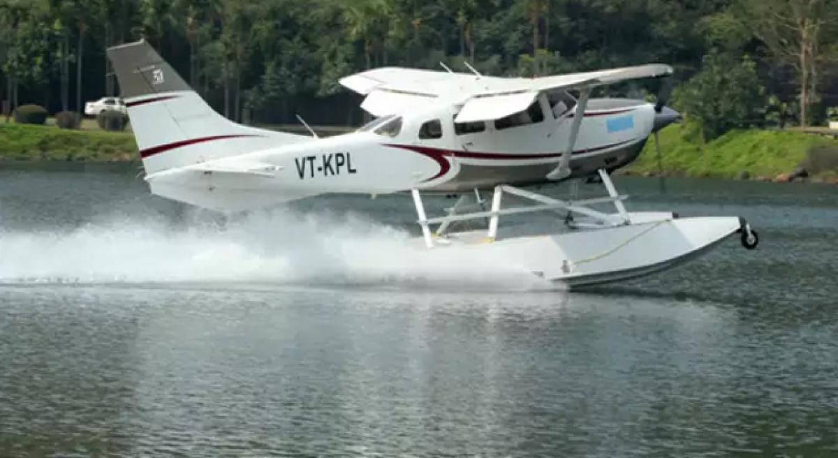 Seaplane services to be launched in River Krishna