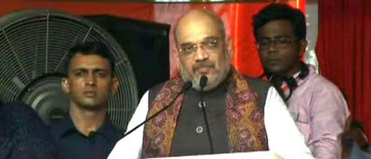 NRC draft row: Shah accuses Mamata for compromising with interests of Indians