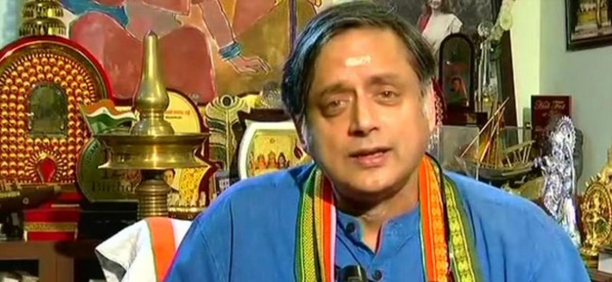 Just reflecting BJPs ideologies: Tharoor on Hindu Pakistan remark