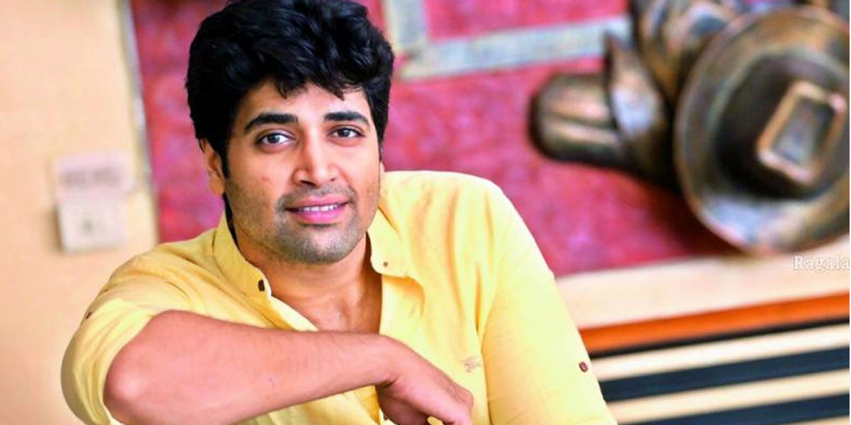 Adivi Sesh wants to become a pan-Indian