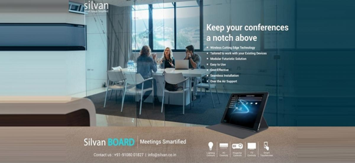 Silvan launches IoT-Based Conference Room Automation - Silvan BOARD