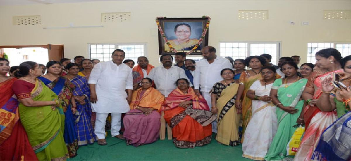 Slew of devp works inaugurated