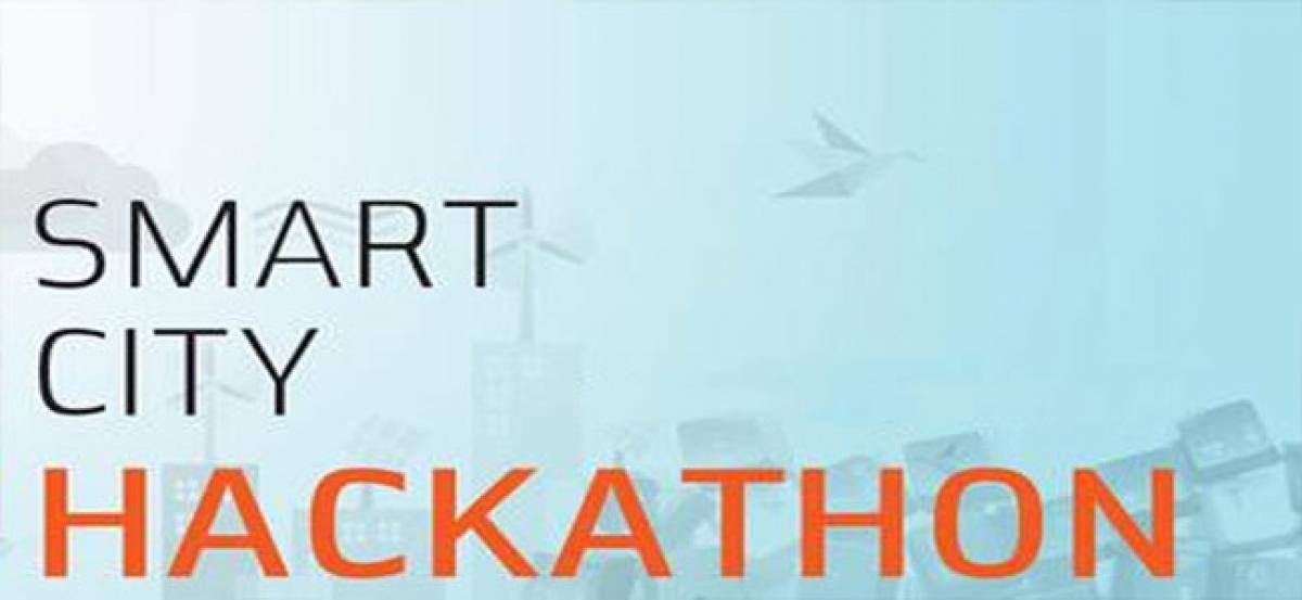 Smart City Hackathon in city