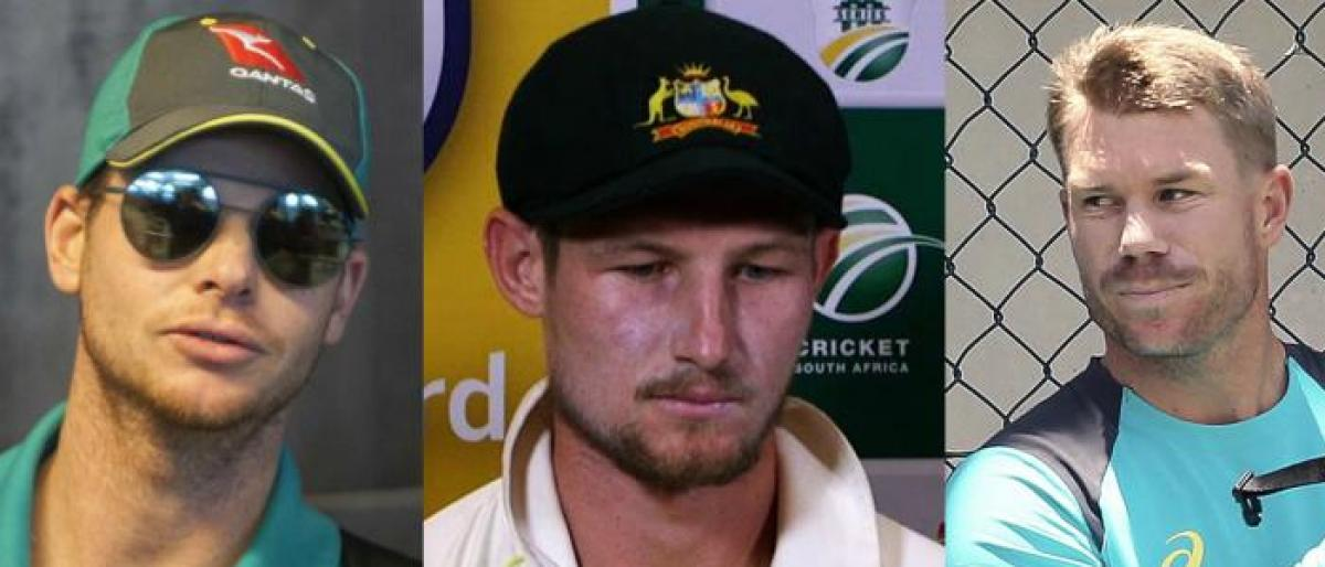 Cricket Australia to discuss the ban on  Bancroft, Smith and Warner