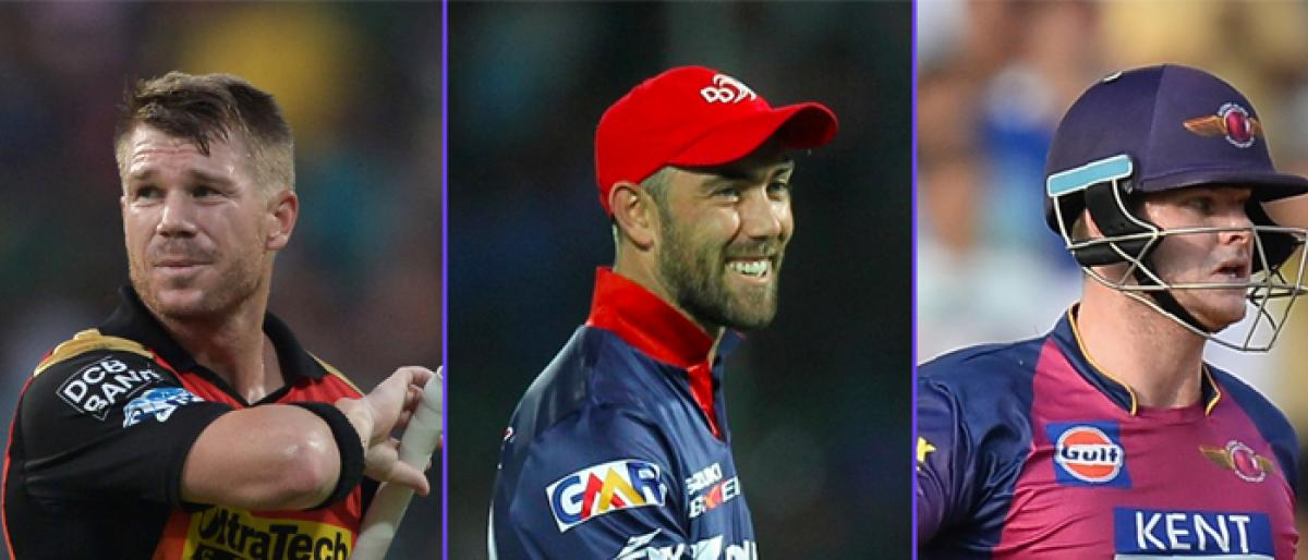 IPL 2019: Smith, Warner retained by Rajasthan Royals, Sunrisers Hyderabad