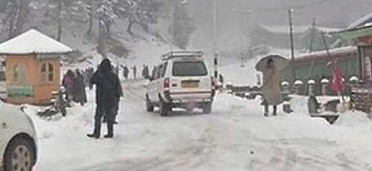 Heavy snowfall expected in Kashmir from next week