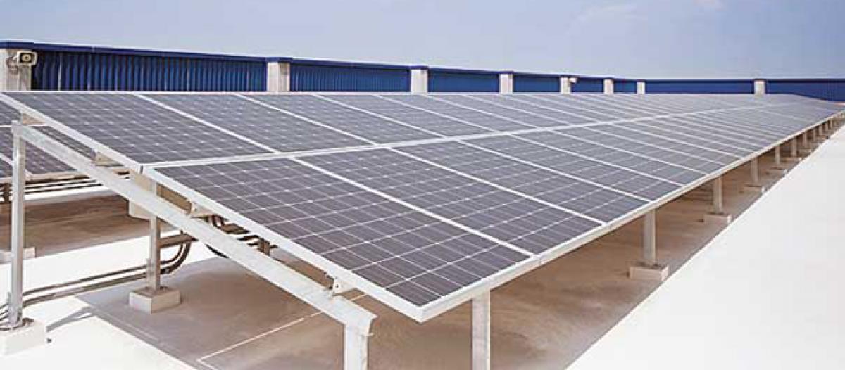 DGP inaugurates solar power plant
