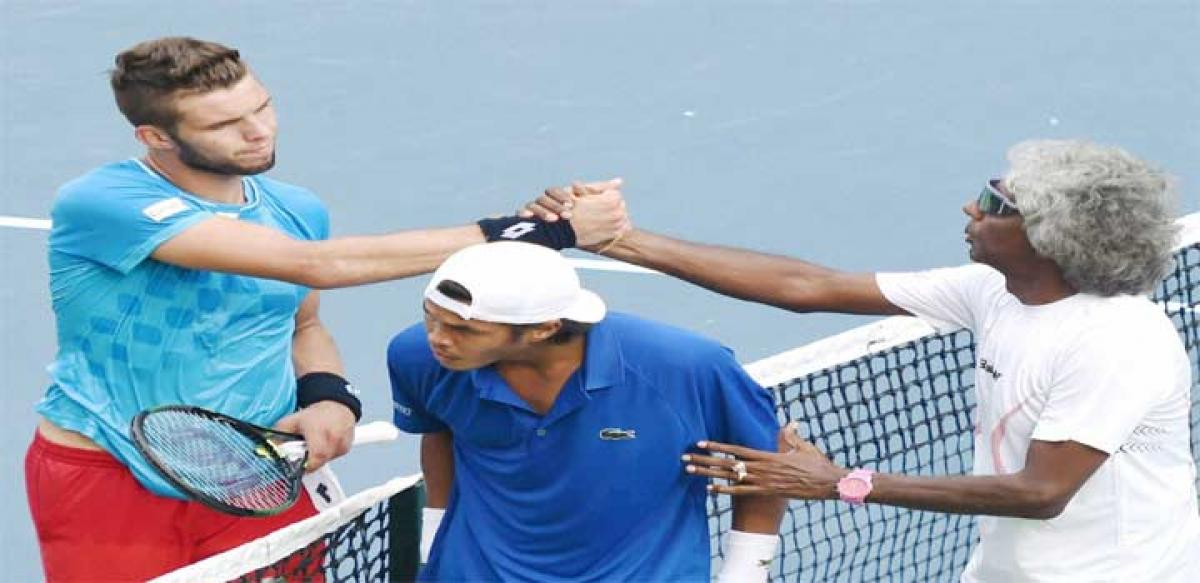 Somdev gives India 4-0 lead