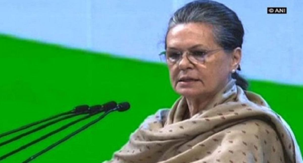 No lack of unity in Opposition, says Sonia Gandhi
