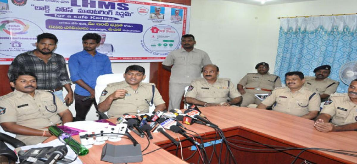 Superintendent of Police launches app for prevention of burglaries