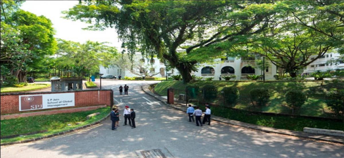 Asia's first-class room FinTech programme at SP Jain Global