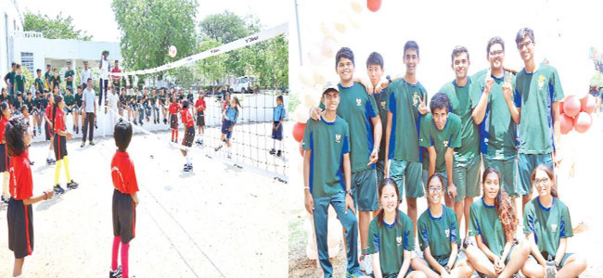 Community sports meet - 2018 for govt school students