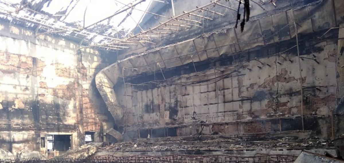Fire Breaks out at Vizag Sri Kanya Theatre