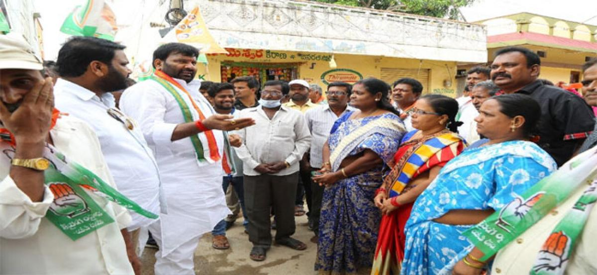Will fight to solve civic issues: Srisailam
