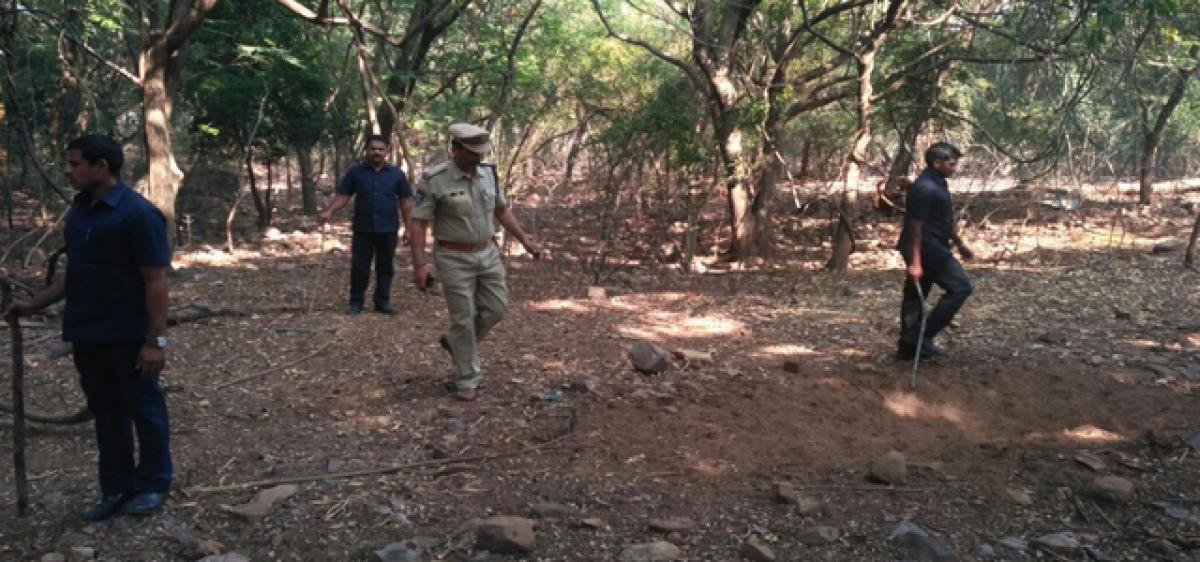 Abandoned air pistol found ahead of Naidu's visit at Srivari Mettu