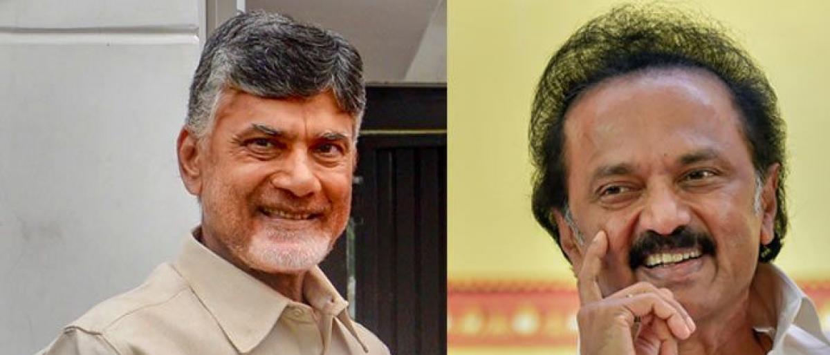 Chandrababu Naidu to meet Stalin in Chennai today