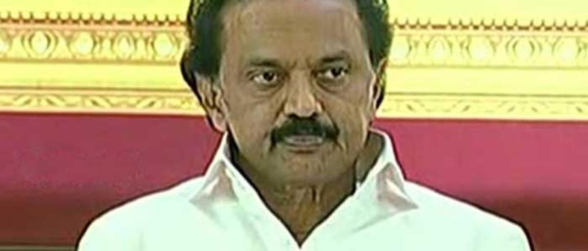 MK Stalin elected DMK president, Duraimurugan treasurer