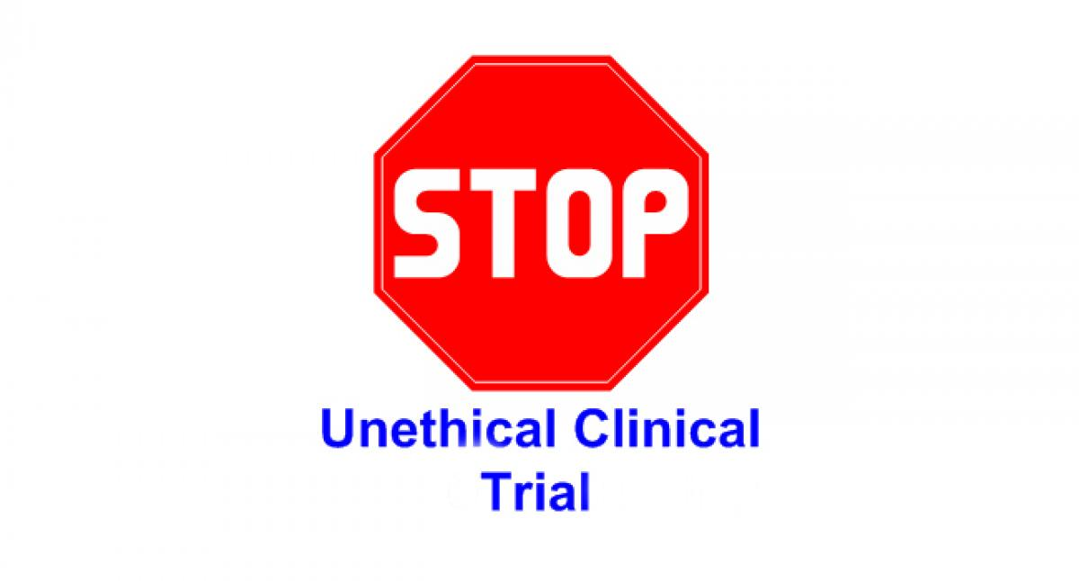 No transparency in clinical trials