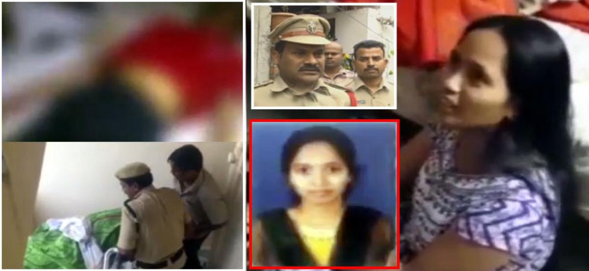 Woman murders husband over an argument in Hyderabad