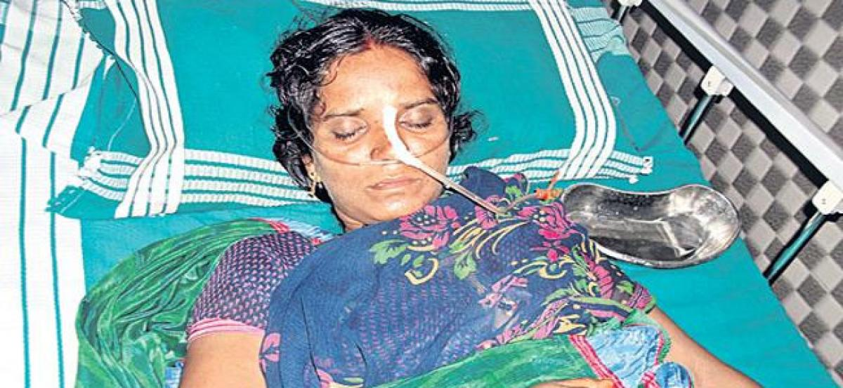 Couple attempt suicide over police harassment