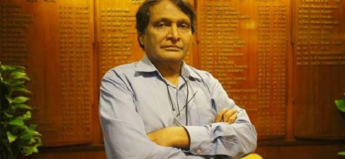 Suresh Prabhu says inclusion of ATF under GST can help airlines cut cost