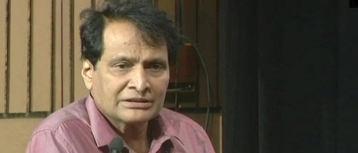 Will train skilled footwear designers for future, says Suresh Prabhu