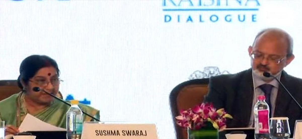 Swaraj talks tough on terrorism