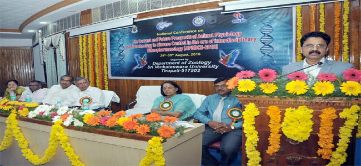 Biotic community under threat: Vice Chancellor Avula Damodaram