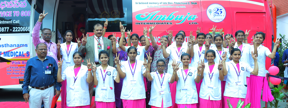 Bus launched for cancer screening