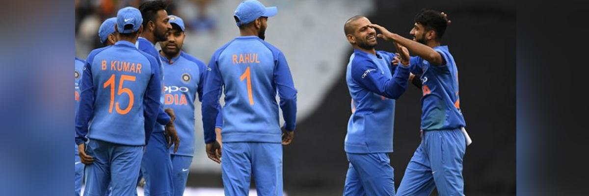 2nd T20I: Rain stops play between India, Australia