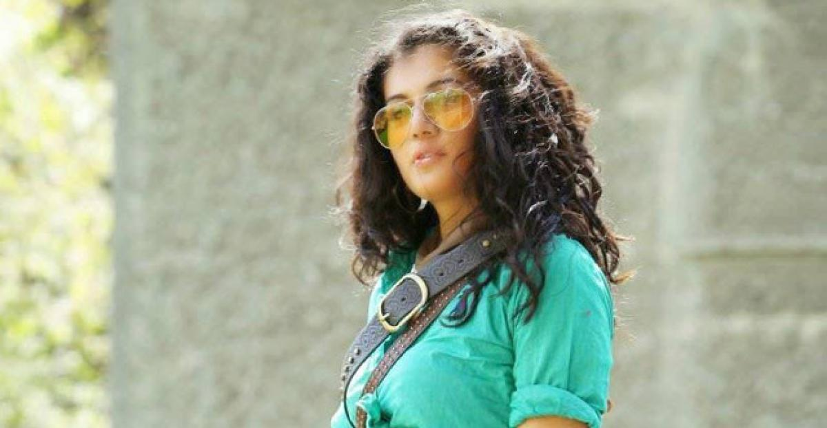 Tapsee's next a spooky film