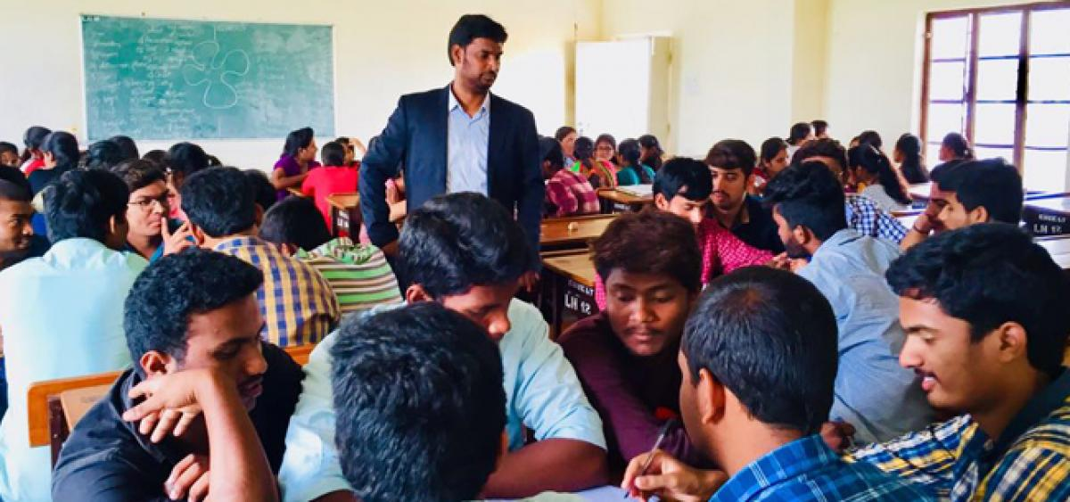 TASK training for BTech final year students