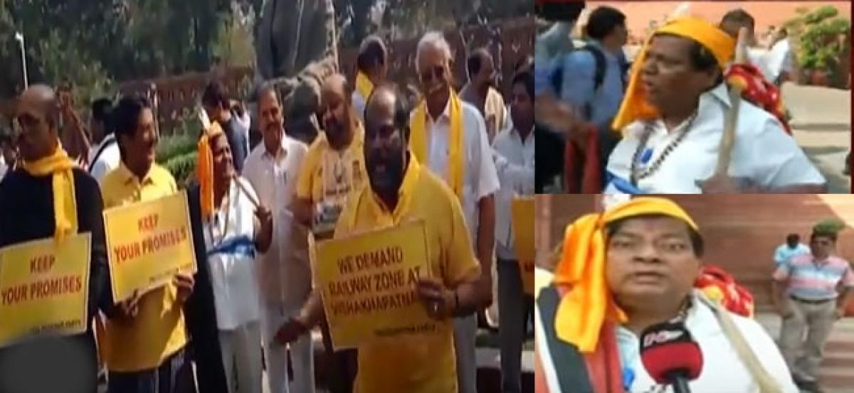 MP Sivaprasad turns into a Koya Dora