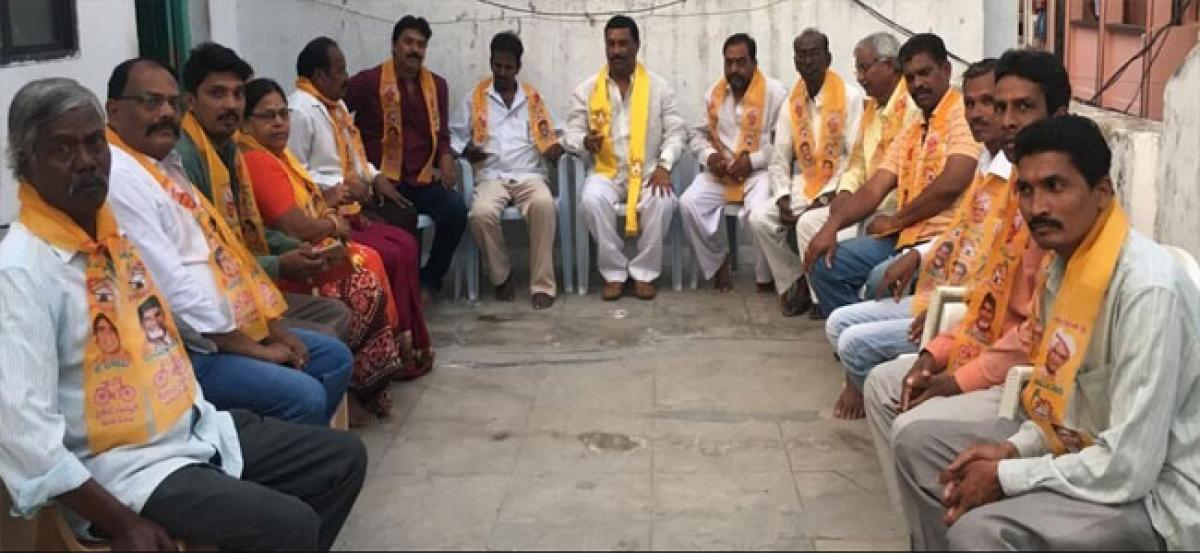 TDP members vow to oust TRS