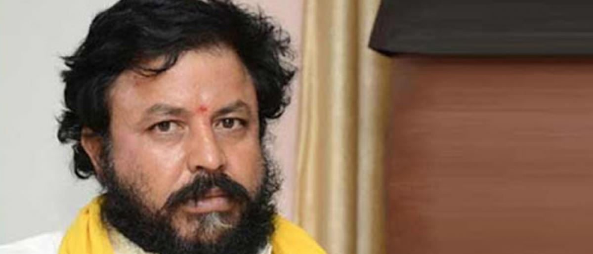 Scribes Lodge Complaint Against TDP MLA