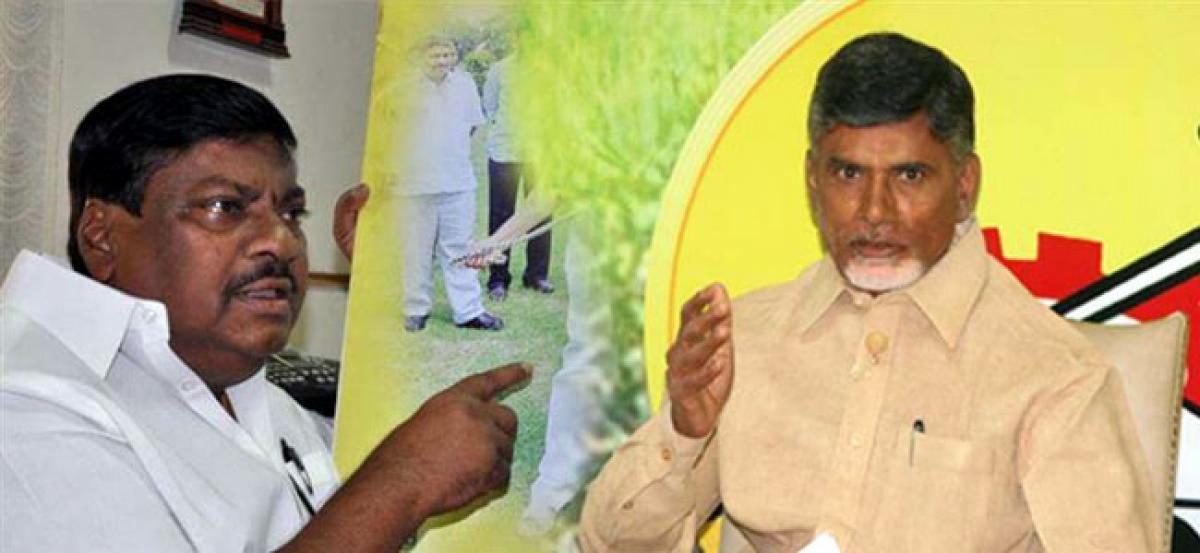 Chandrababu lauds MP Siva Prasad