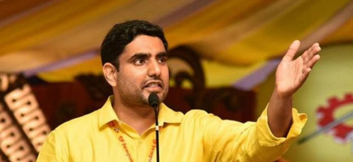 TDP ready for elections: Lokesh