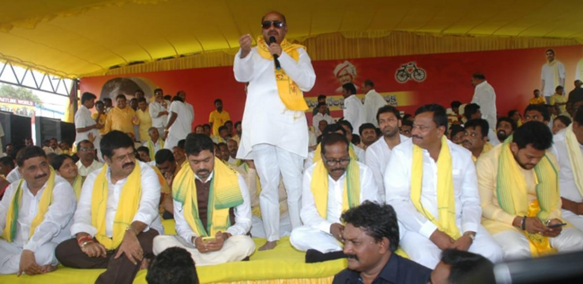 TDP MPs want betrayer Modi thrown out in 2019 polls