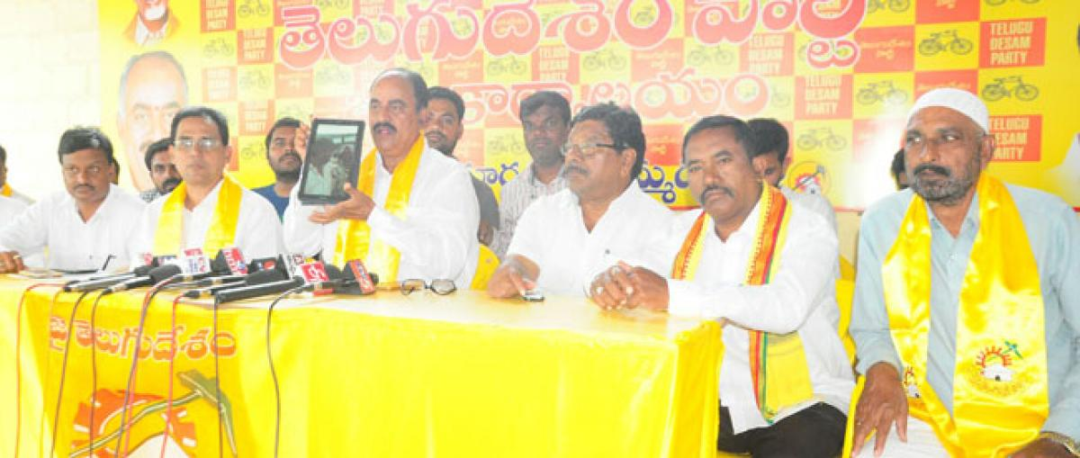 KCR making mockery of democracy: TDP
