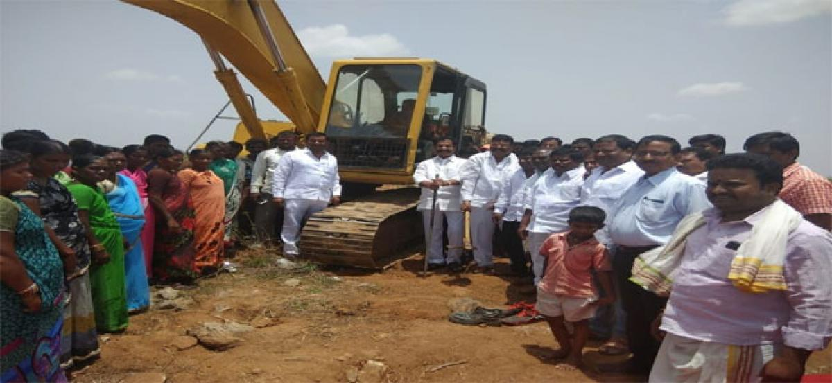 Drinking water by August for Mamidipally: Teegala Krishna Reddy