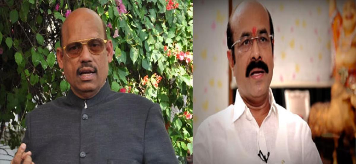 SV Mohan Reddy counters TDP MP Comments On Lokesh