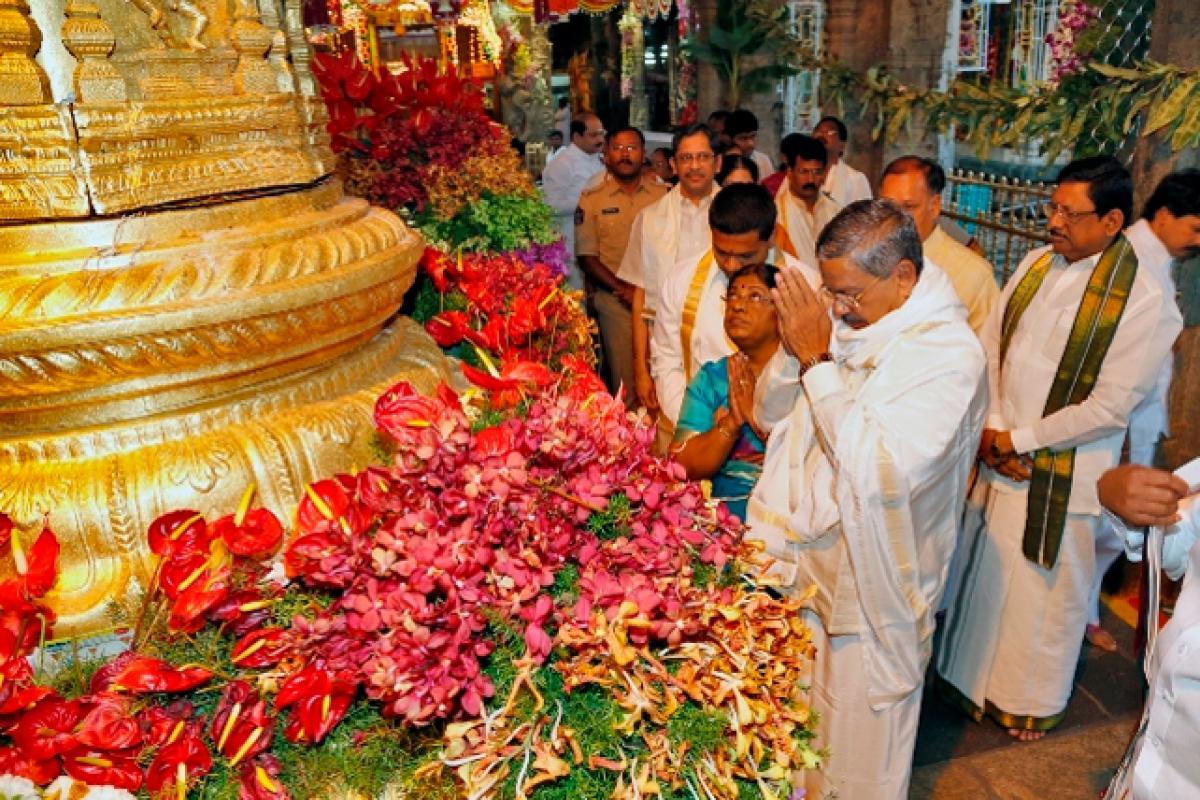 Bramhotsavams in Kodanda  Ramaswamy temple begin