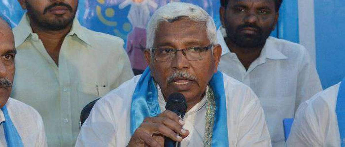 TJS chief Kondadaram not to contest assembly elections